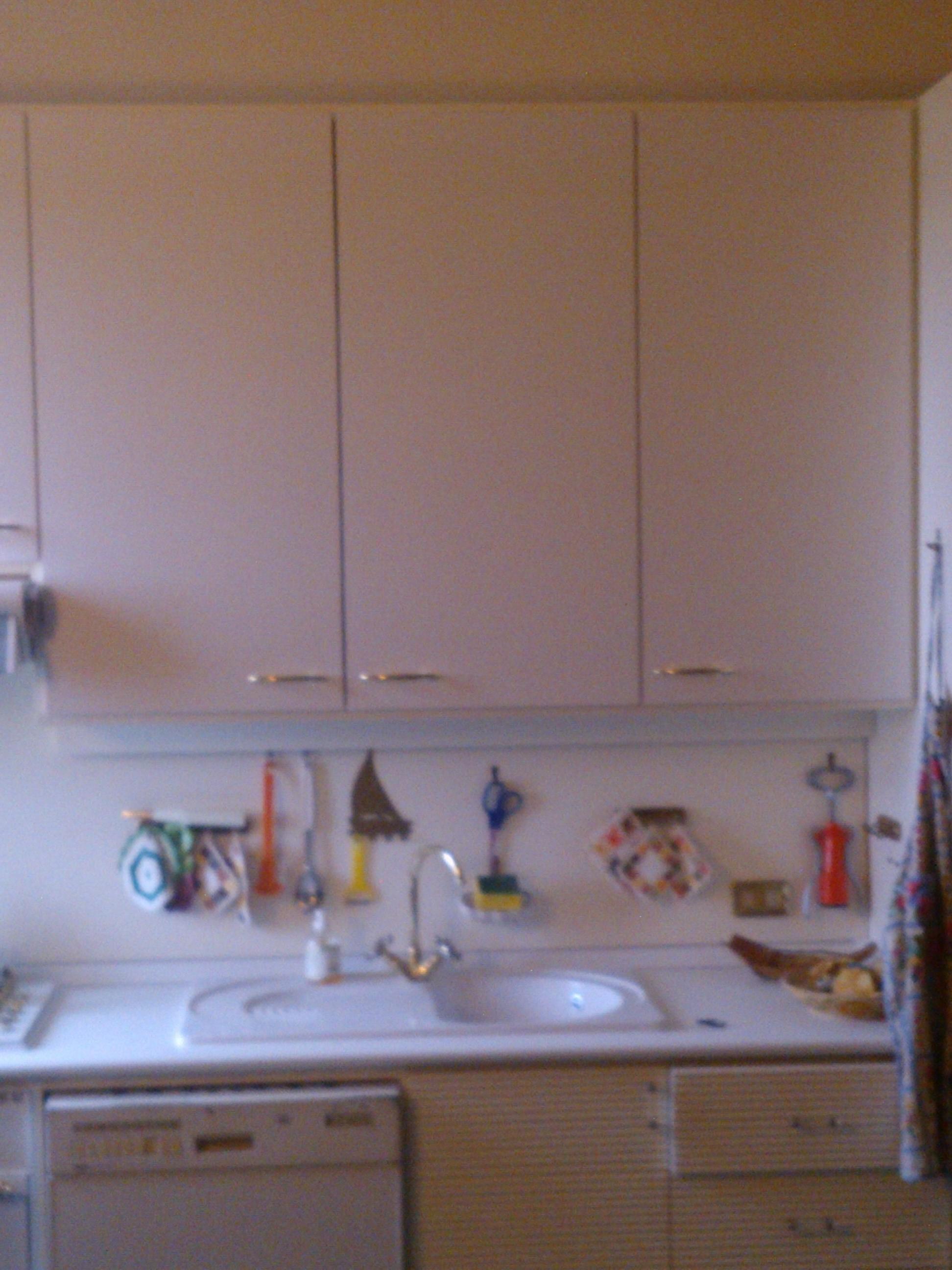 18mm Laccato Bianco ;ad Pensile Cucina.sostituzione Top Con Alzatina #3B4E90 1944 2592 Piano Di Lavoro Cucina Brico